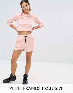 Missguided Petite Exclusive Running Shorts Co-Ord