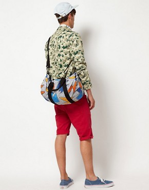 Image 3 ofASOS Barrel Bag With All Over Print