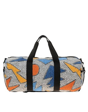 Image 1 ofASOS Barrel Bag With All Over Print