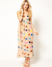 Jovonnista Spot Maxi Dress