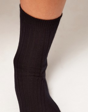 Image 2 ofASOS Calf Length Rib Socks