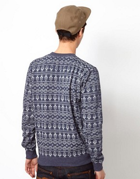 Image 2 ofBellfield Sweatshirt With Allover Print