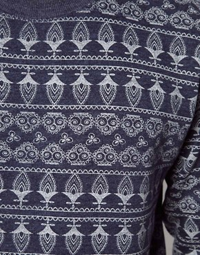 Image 3 ofBellfield Sweatshirt With Allover Print