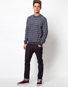 Image 4 ofBellfield Sweatshirt With Allover Print