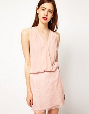 Maurie &amp; Eve Coco Drape Silk Dress