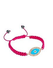Ashiana Evil Eye Charm Cord Bracelet