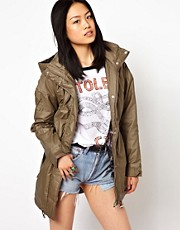 Vero Moda Parka In High Shine