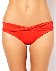 Seafolly Goddess Twist Band Hipster Bikini Brief