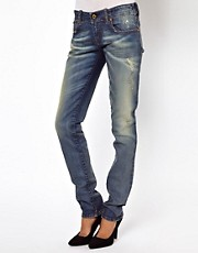 Diesel Grupee Distressed Skinny Jeans