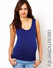 ASOS Maternity Tank In Soft Touch Fabric