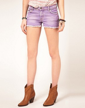 Image 4 ofM2f Pastel Denim Shorts