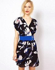 Jovonna Large Floral Dress