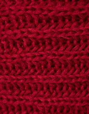 Image 2 ofASOS Extra Long Funnel Rib Knit Snood