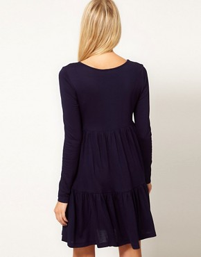Image 2 ofASOS Swing Dress With Tier Detail