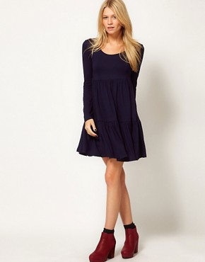 Image 4 ofASOS Swing Dress With Tier Detail