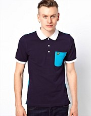 Lyle &amp; Scott Vintage Polo with Contrast Pocket