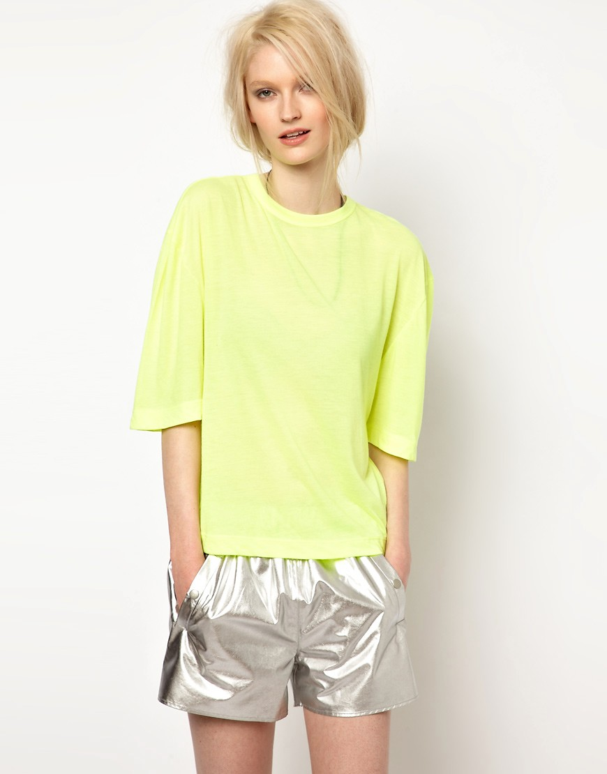 Image 1 ofBACK by Ann-Sofie Back Clear Strap T-Shirt