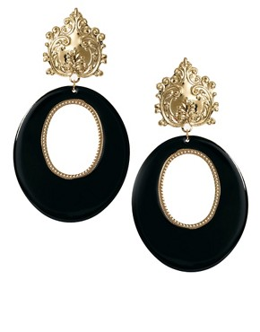 Image 1 of Limited Edition Filigree Doorknocker Earring