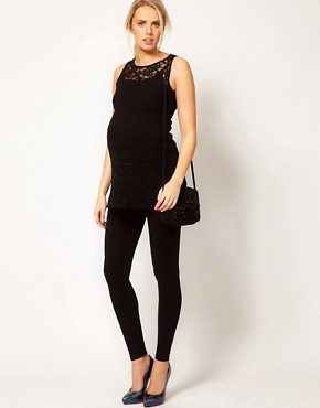 Image 4 ofASOS Maternity Lace Tunic
