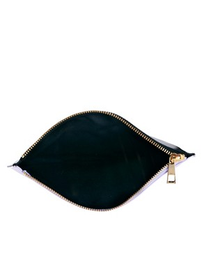 Image 4 ofWhistles Zip Top Leather Purse