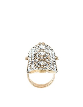 Image 1 of River Island Armour Bling Ring