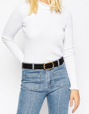 ASOS Rectangle Buckle Jeans Belt