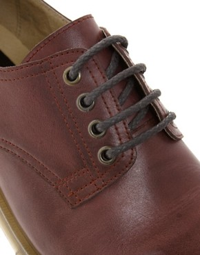 Image 2 ofASOS Derby Shoes in Leather