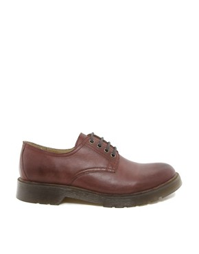 Image 4 ofASOS Derby Shoes in Leather