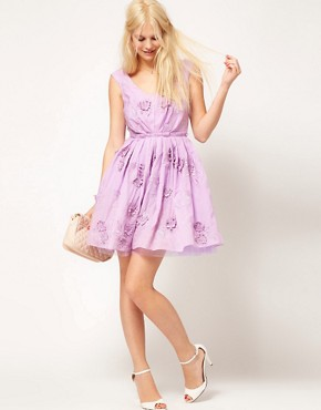 Image 4 ofASOS Floral Prom