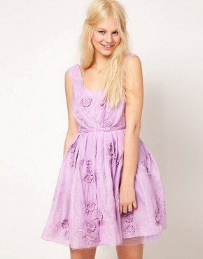 Image 1 ofASOS Floral Prom