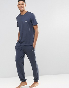 Hugo Boss Lightweight Cuffed Joggers In Regular Fit