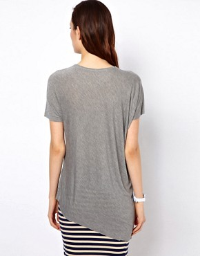 Image 2 ofBZR Draped Jersey T-Shirt