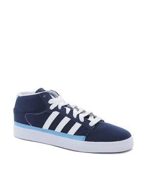 Image 1 ofAdidas Originals Rayado Mid Plimsolls