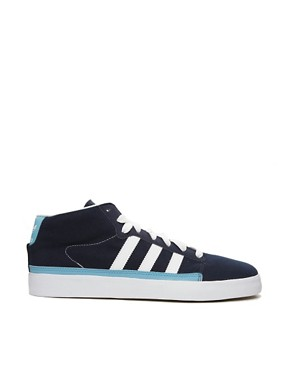 Image 4 ofAdidas Originals Rayado Mid Plimsolls