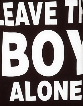 Image 3 of BOY London 'Leave The Boy Alone' Vest