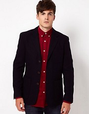 Selected Blazer with Three Buttons