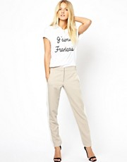 ASOS Pants with Color Block Side Seam
