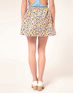 Image 2 ofAime by People Tree Organic Cotton Confetti Skirt