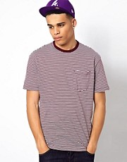 Addict T-Shirt Academy Stripe Pocket