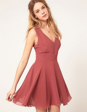 Image 1 ofLove Chiffon Cut Out Dress
