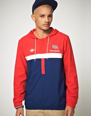 Image 1 ofAdidas Originals 1984 Olympic Archive Overhead Windbreaker