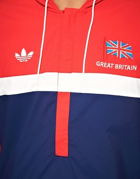 Image 3 ofAdidas Originals 1984 Olympic Archive Overhead Windbreaker