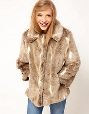 ASOS Vintage Fur Coat