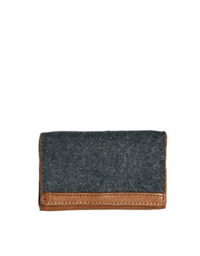 Image 1 ofASOS Melton Bifold Cardholder Wallet