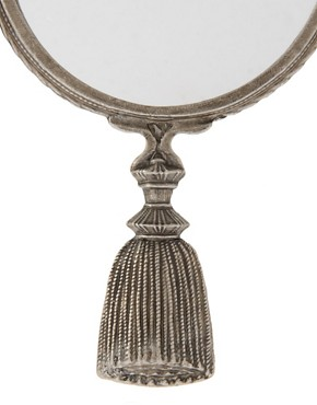 Image 2 ofASOS Mirror with Tassel Handle