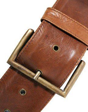 Image 2 ofJocasi Leather Sweetheart Belt