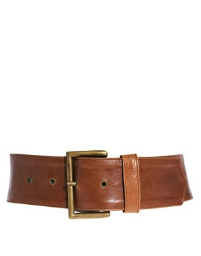 Image 1 ofJocasi Leather Sweetheart Belt