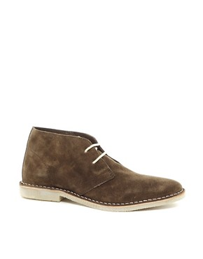 Image 1 ofASOS Desert Boots in Suede