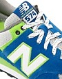 Image 2 ofNew Balance Exclusive To ASOS 574 Yacht Club Trainers