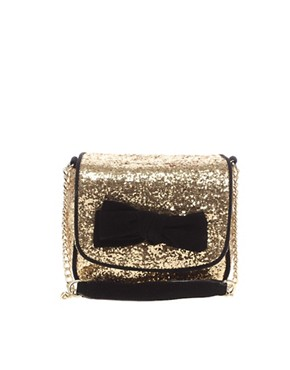 Image 1 ofAldo Summerhill Glitter Bow Bag